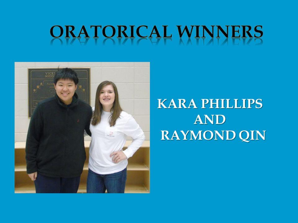 KARA PHILLIPS AND AND RAYMOND QIN RAYMOND QIN