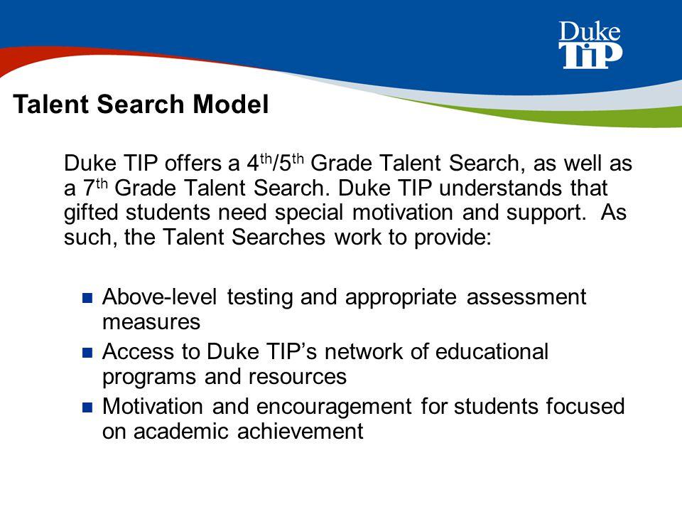 7th Grade Talent Search
