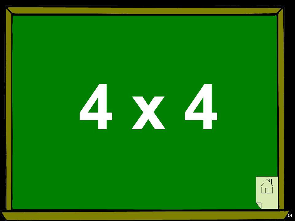 14 4 x 4