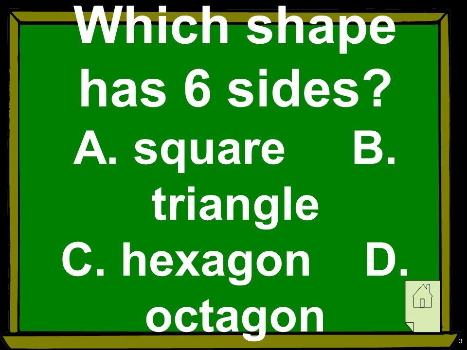 4 C. hexagon