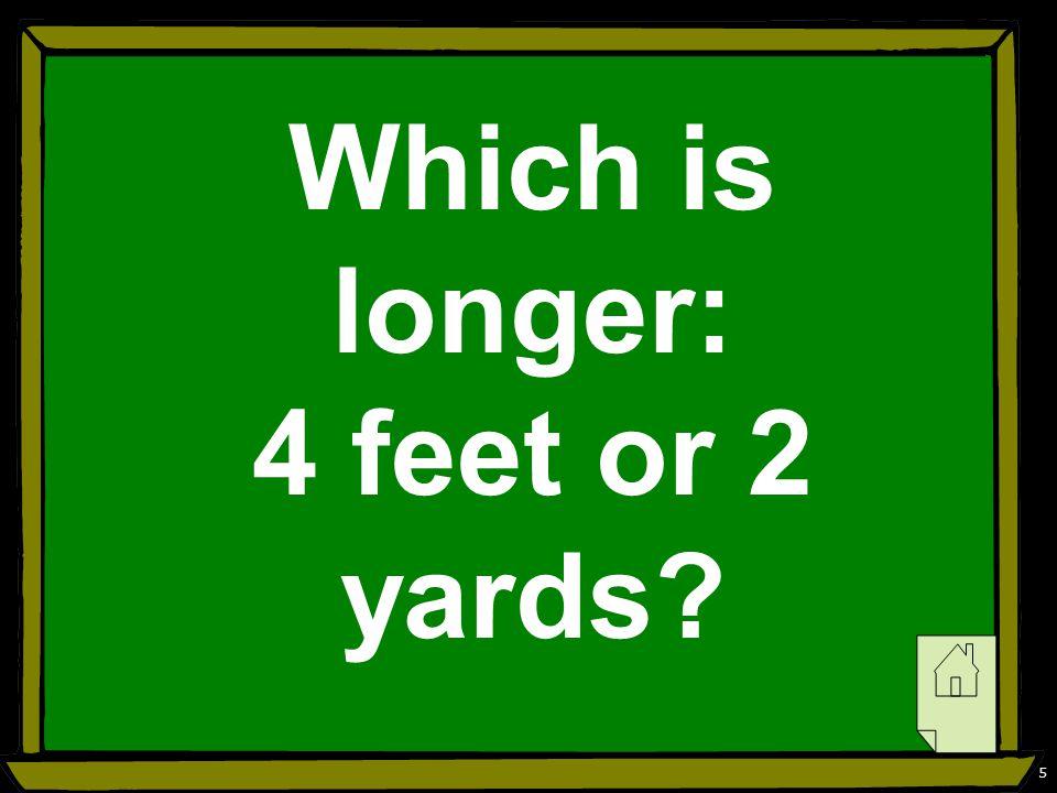 6 2 yards