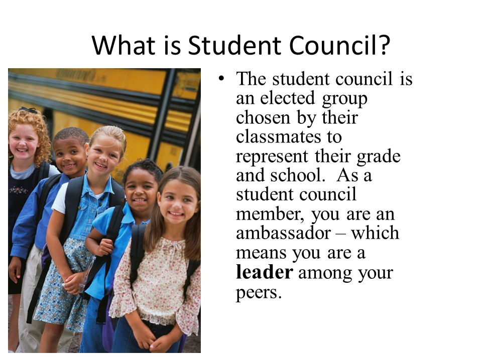 What is Student Council.