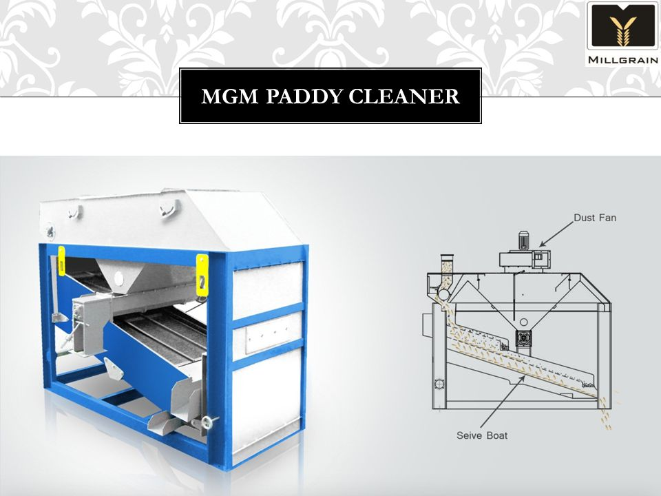 MGM PADDY CLEANER