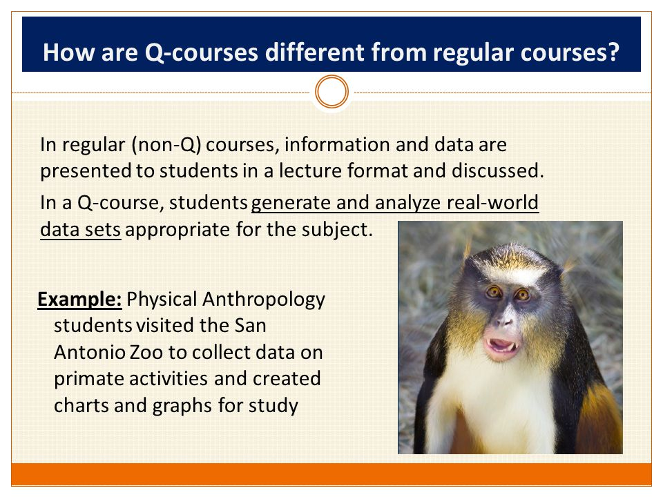 Why is it important.Get More Out of Courses QLP courses help students 1.