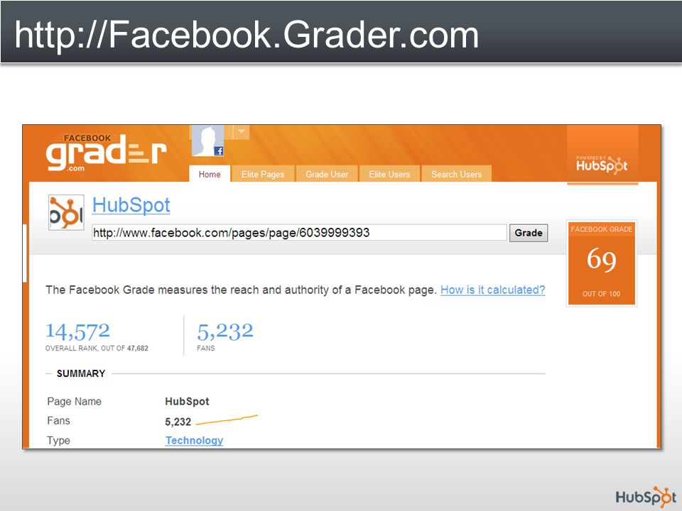 http://Facebook.Grader.com