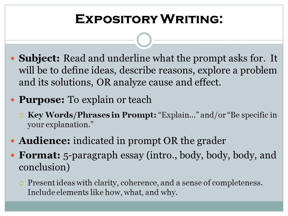 How would you organize the following material into an outline for an essay response.