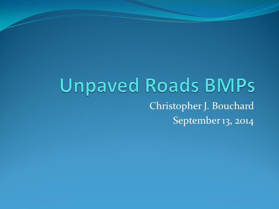 Christopher J. Bouchard September 13, 2014