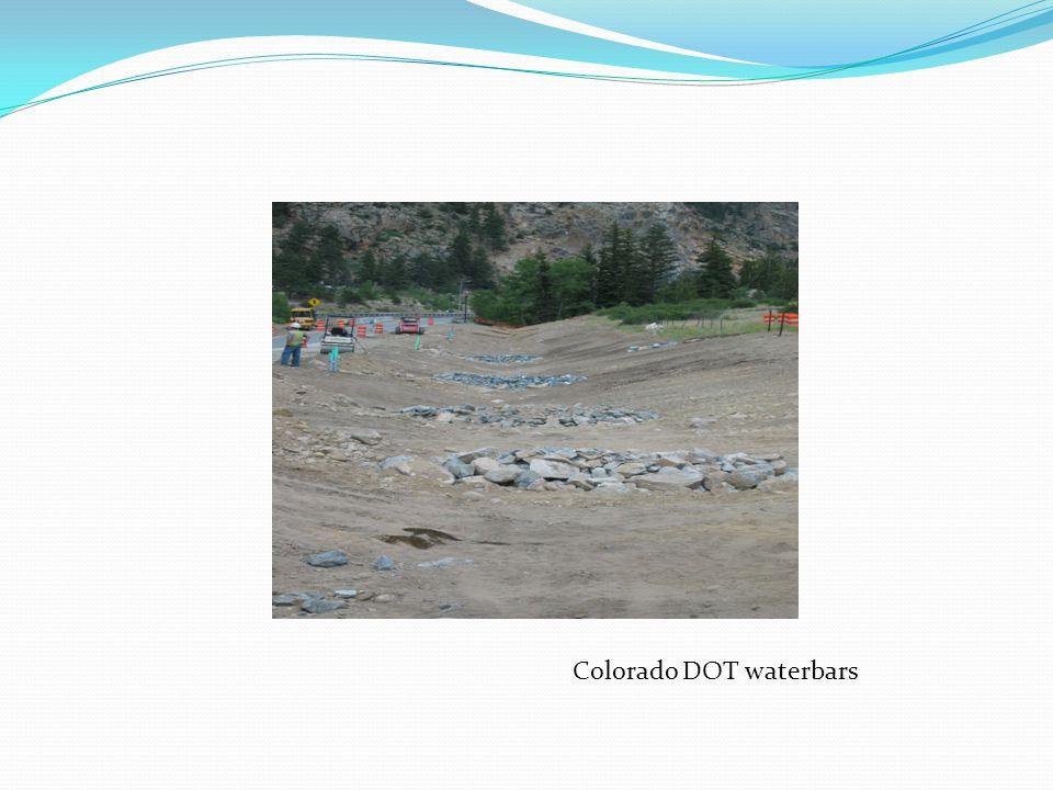 Colorado DOT waterbars