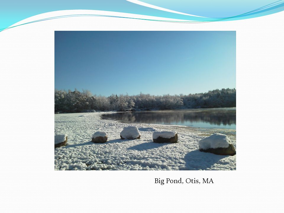 Big Pond, Otis, MA