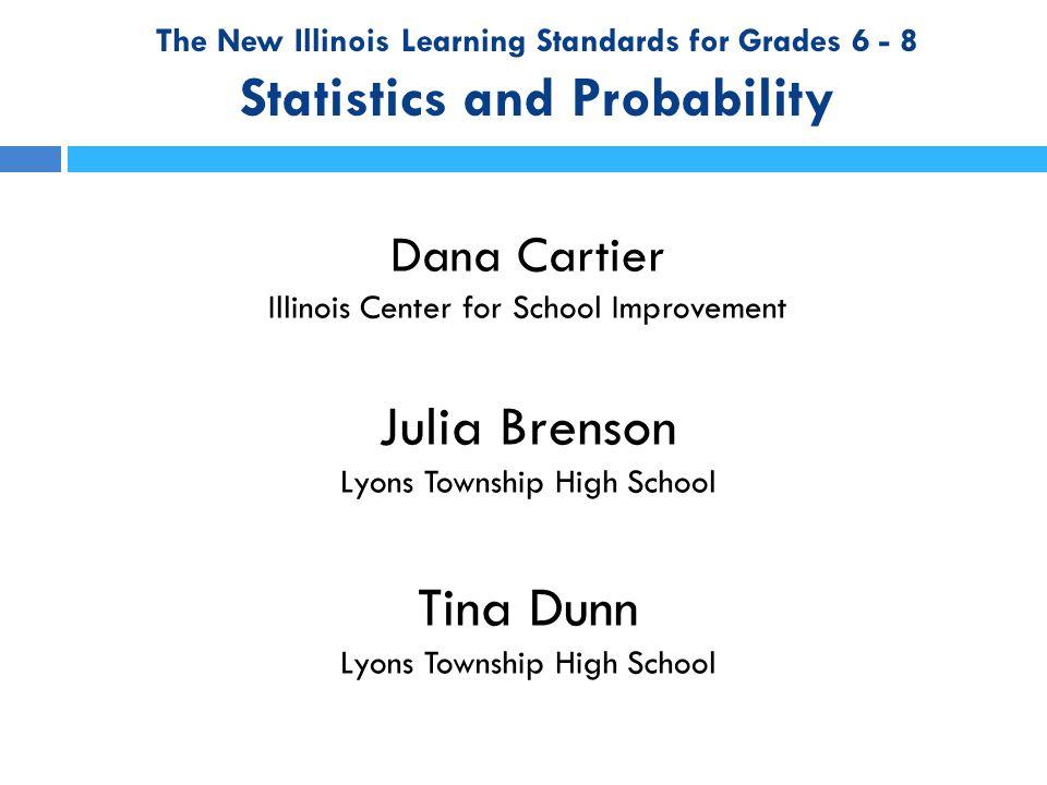 Statistics Standards for 6 th Grade Measures of Center