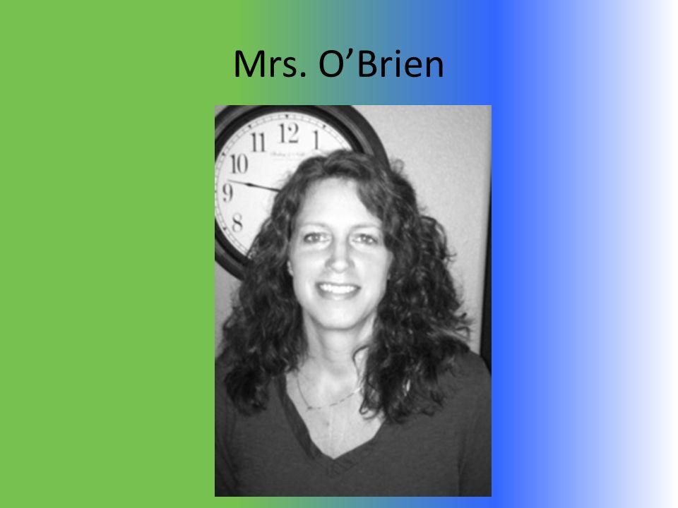 Mrs. O'Brien