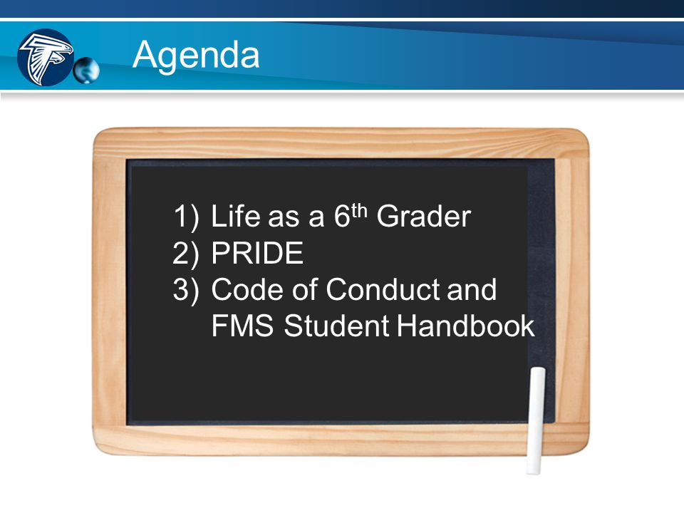 Fairfield Middle School Middle School Expectations Mr.