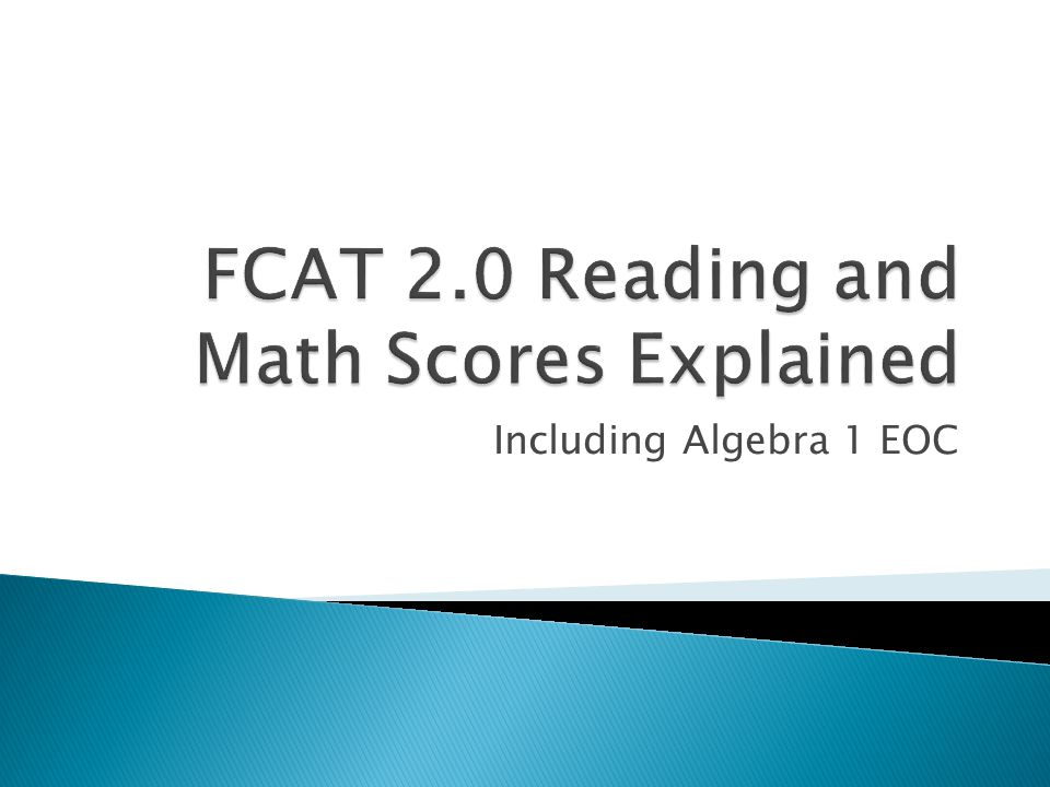 ***Students entering 9 th grade in the 2011-2012 school year must achieve a Level 3 (minimum score of 399) on the Algebra 1 EOC in order to meet their graduation requirement.