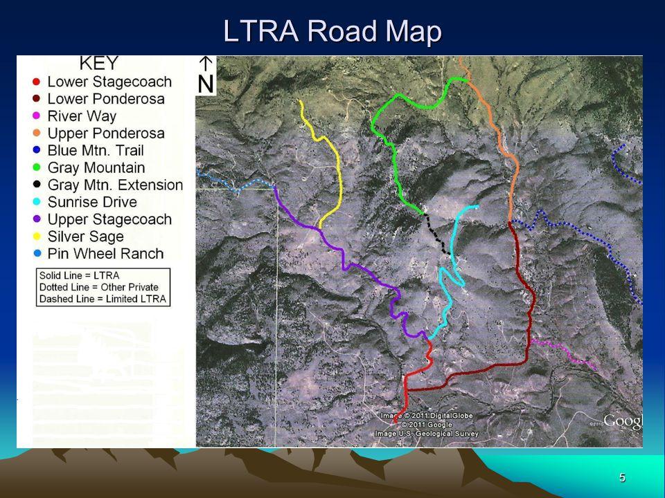 5 LTRA Road Map