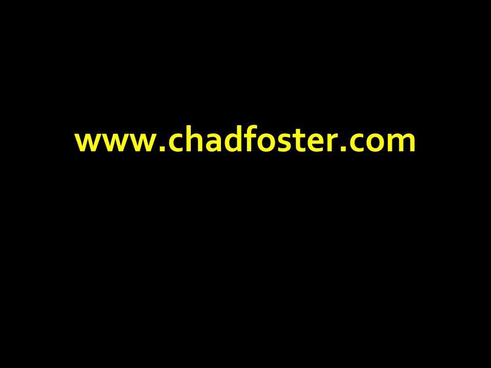 www.chadfoster.com