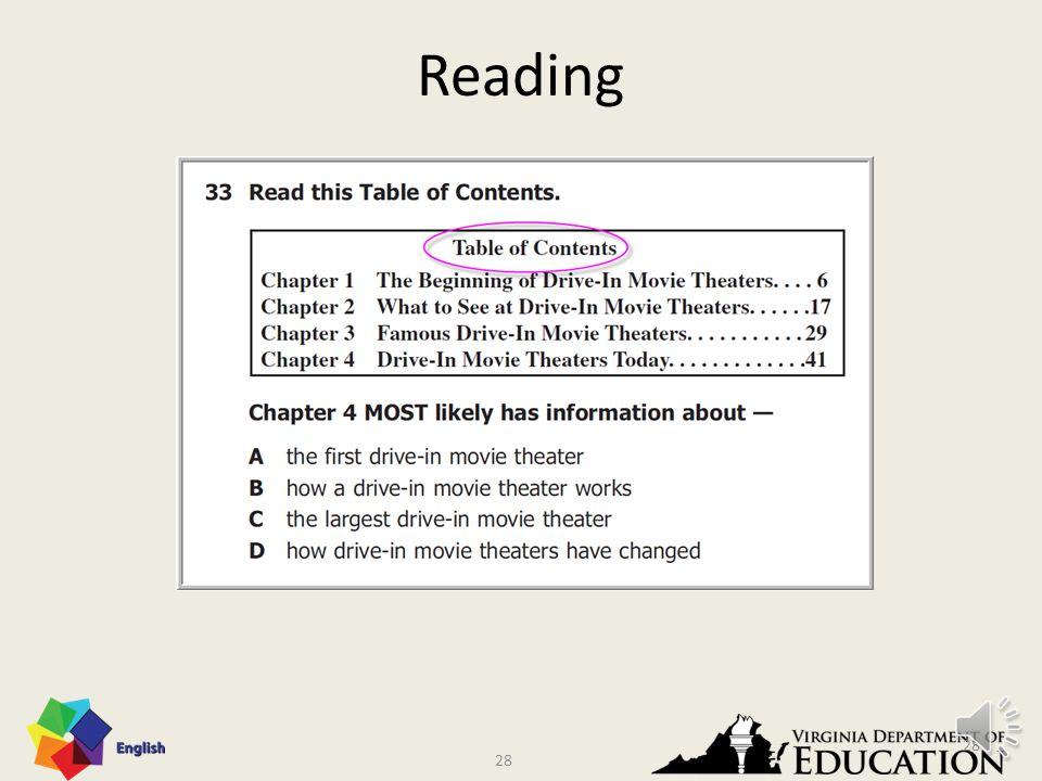27 Reading: Summarizing 27