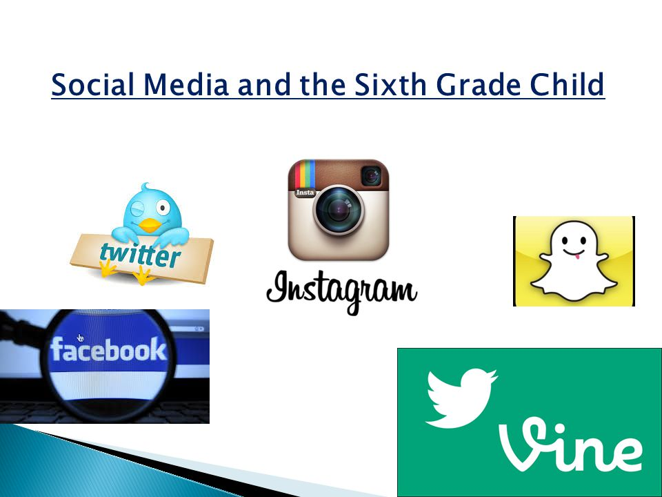Social Media and the Sixth Grade Child
