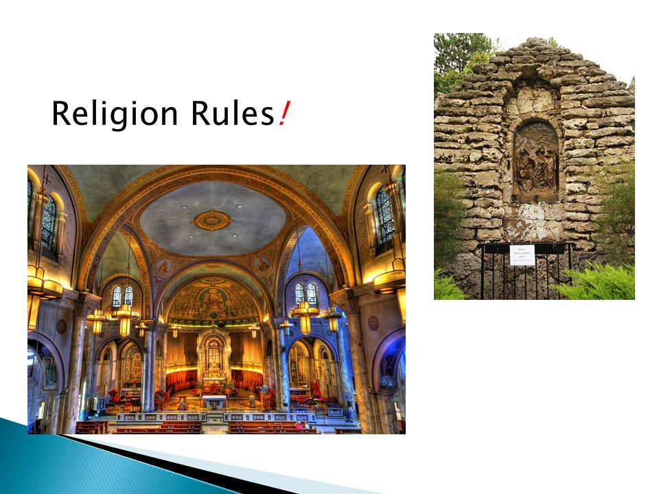 Religion Rules!