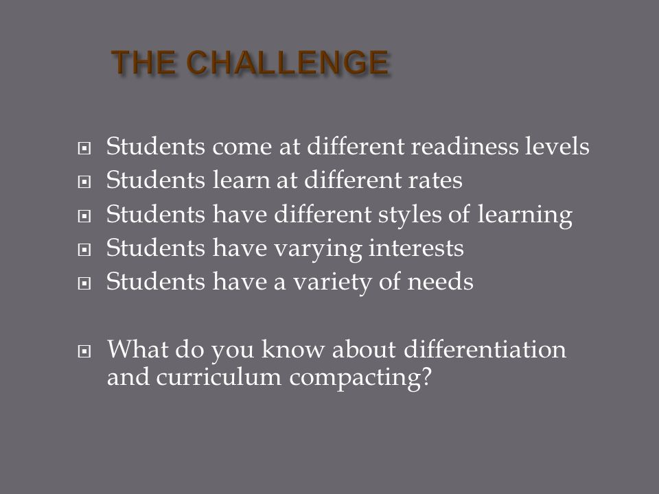  Find or develop pretest that assesses the skill or content which is the instructional focus.