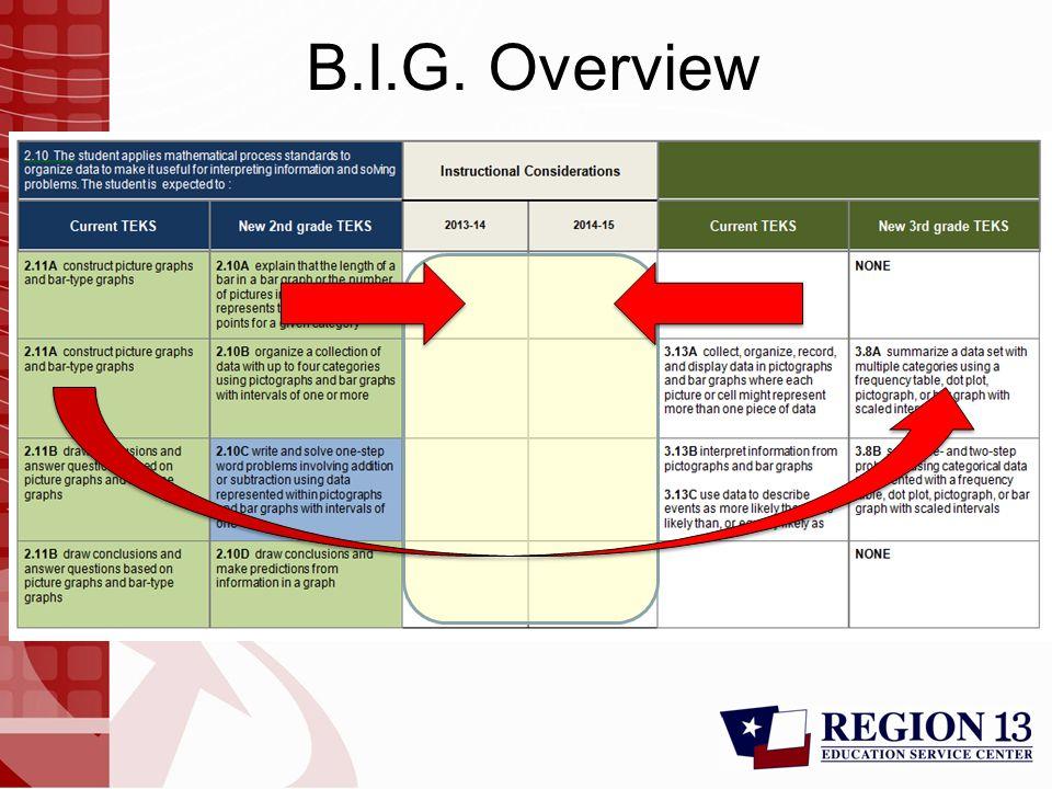 B.I.G. Overview