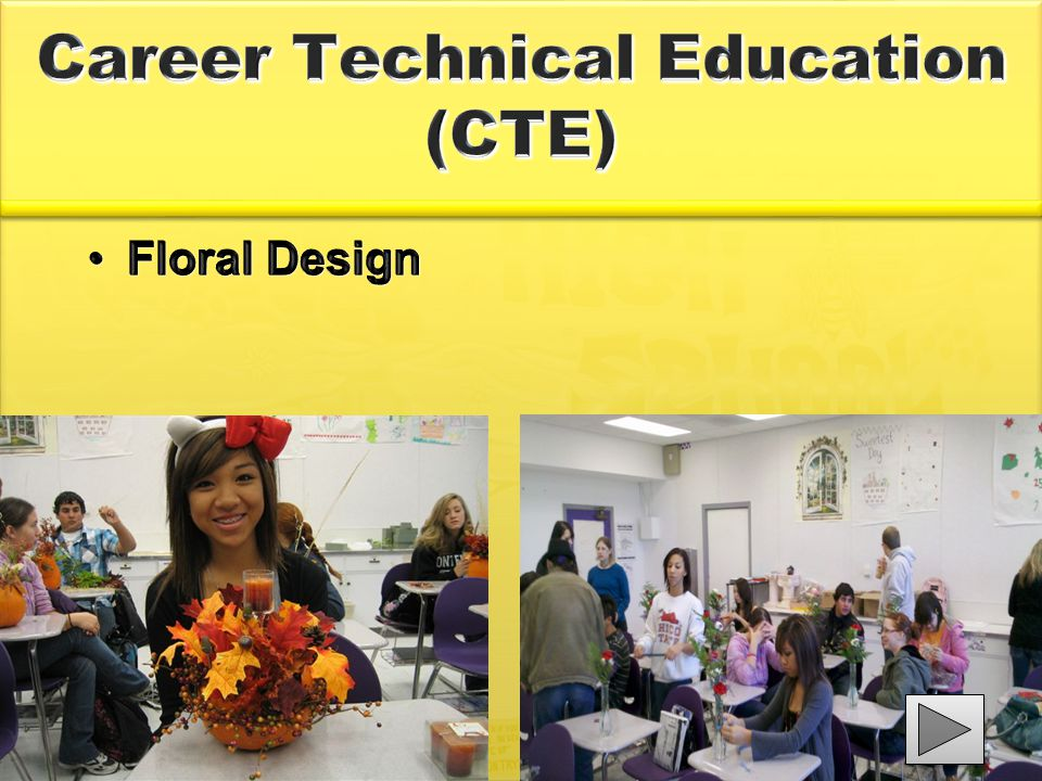Career Technical Education (CTE) Floral DesignFloral Design