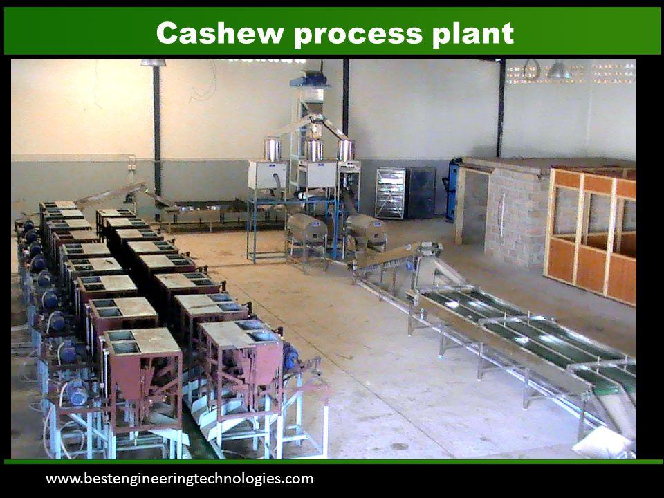 www.bestengineeringtechnologies.com Raw Cashew Grading Machine with feeding  Raw Cashew nuts are feeded in to Grader by Bucket elevator.