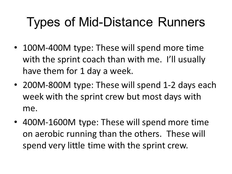 2 week cycle for mid-season Mon: 350M at 100%, followed by 6x150 at 95%.