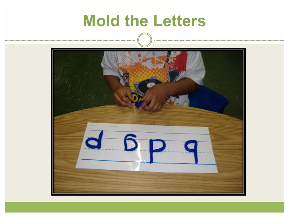 Mold the Letters