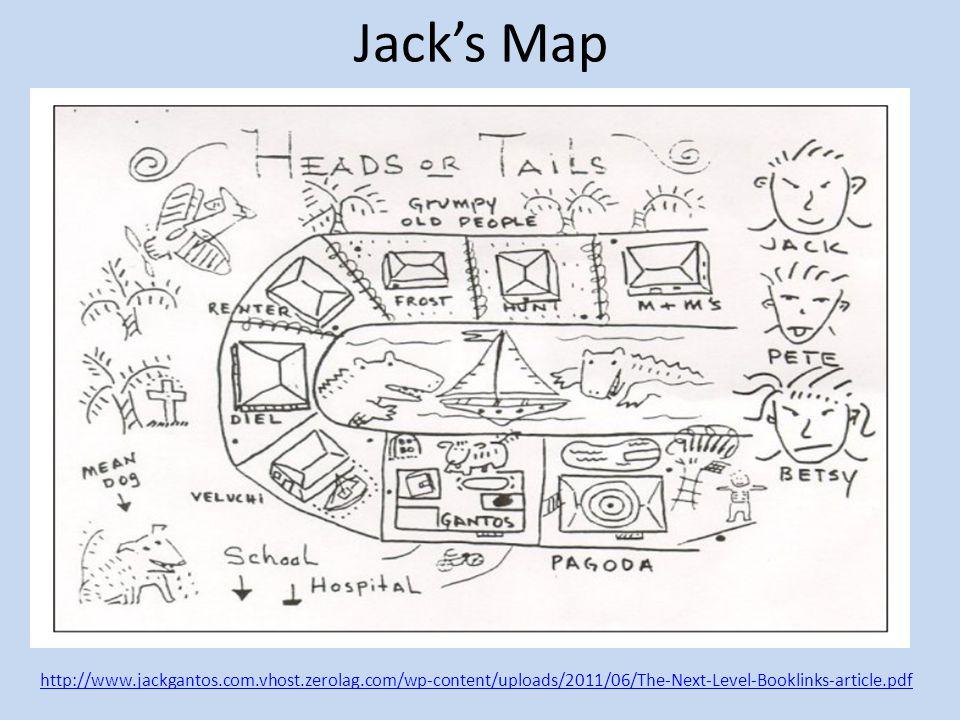 Jack's Map http://www.jackgantos.com.vhost.zerolag.com/wp-content/uploads/2011/06/The-Next-Level-Booklinks-article.pdf