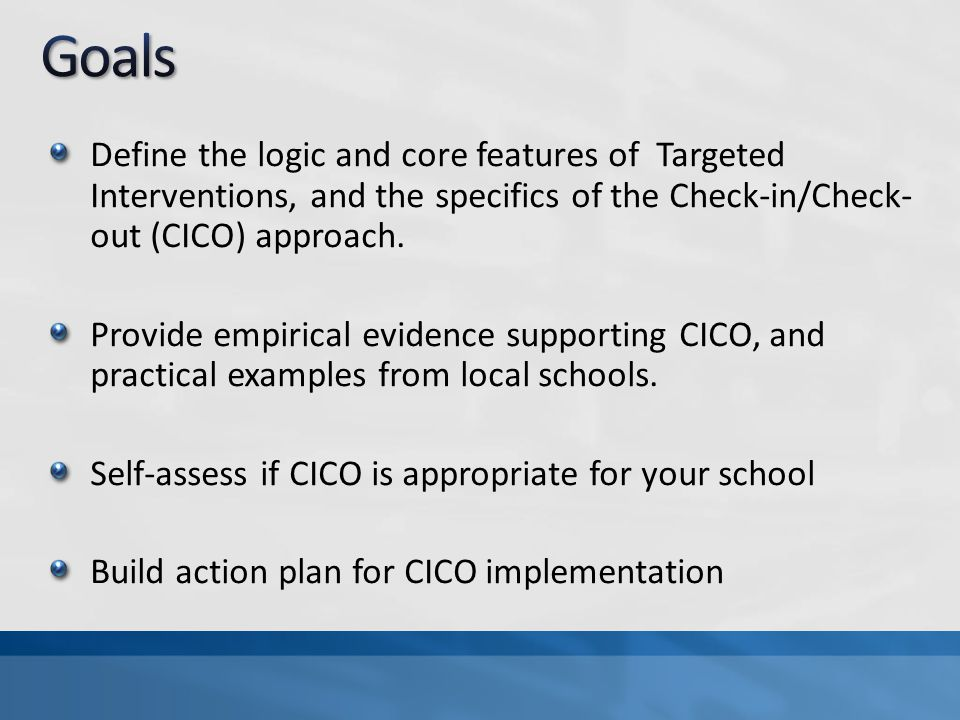 All specialized interventions are more effective, and more durable, if they are done with school- wide behavioral expectations as a foundation.