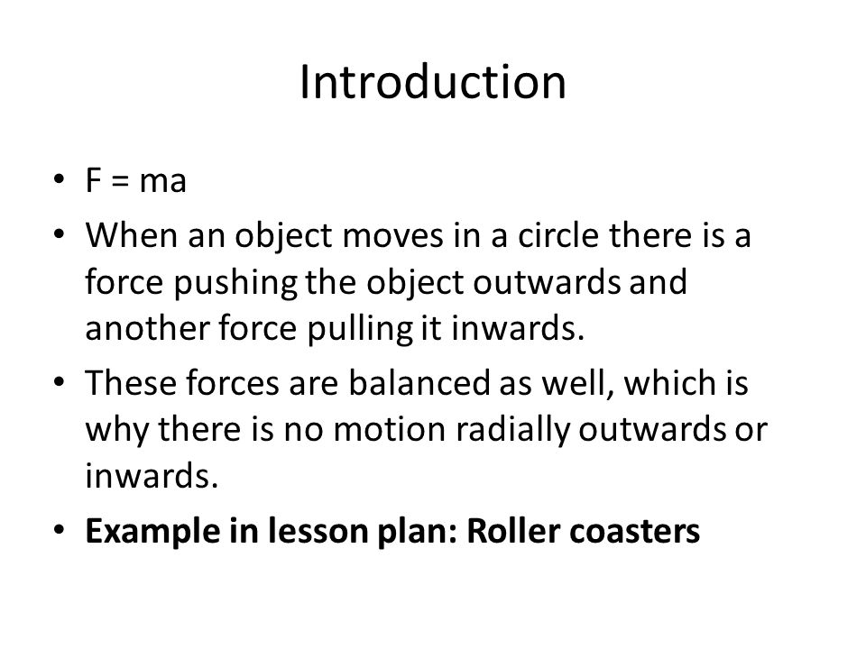 Module 1: Demonstrate Balanced Forces Tug of War When the force applied on the two ends of the rope is equal, the knot at the center of the rope won't move But let's add a complication …