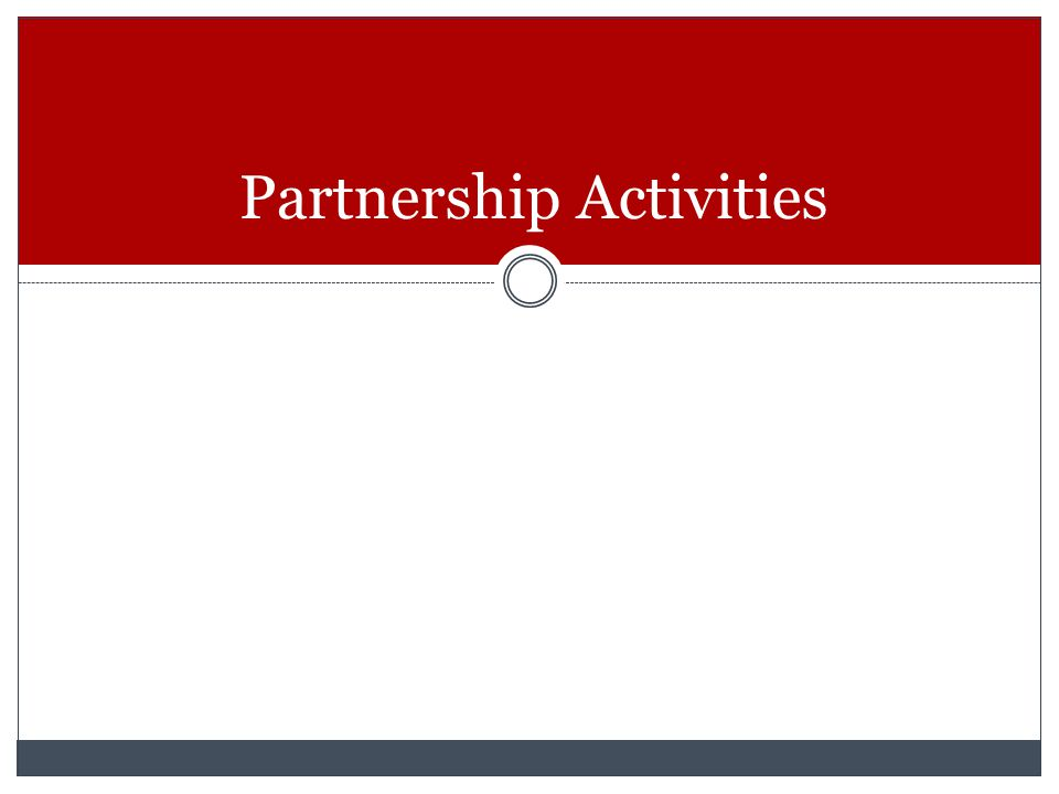 Partnership Activities