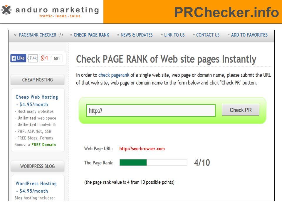 PRChecker.info