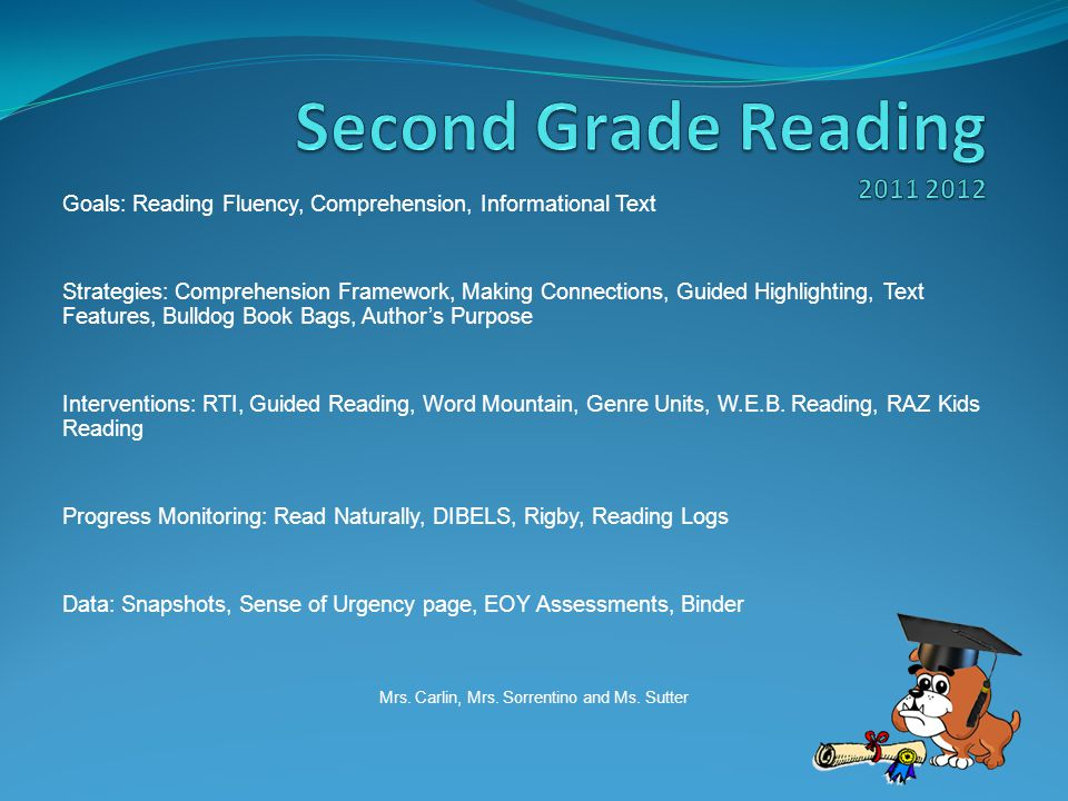 Goals: Reading Fluency, Comprehension, Informational Text Strategies: Comprehension Framework, Making Connections, Guided Highlighting, Text Features,