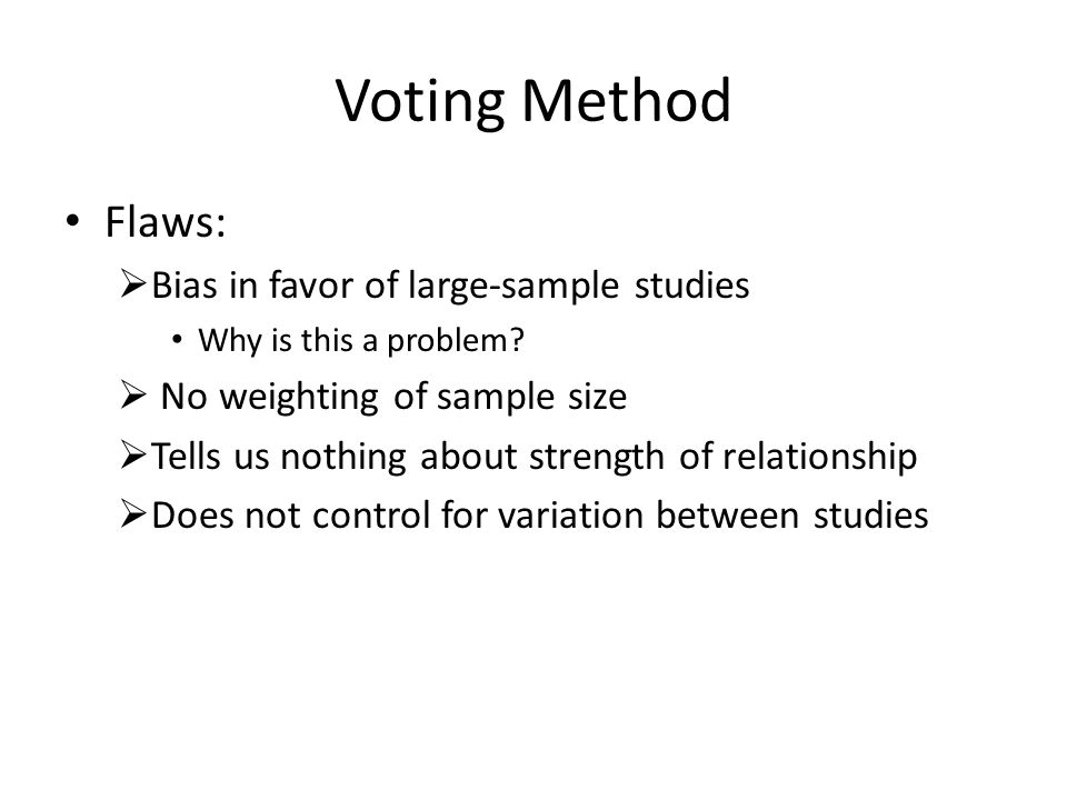 Voting Method Illustration:  Researcher A is conducting a study on the effects of RtI on a group of 1 st graders' fluency rate.