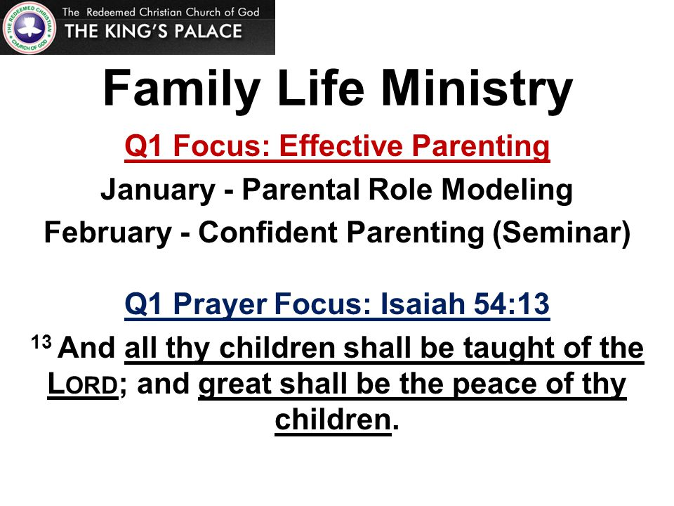 Bill Maier - Confident Parenting Seminar (Summary) Keep the line of communication open.