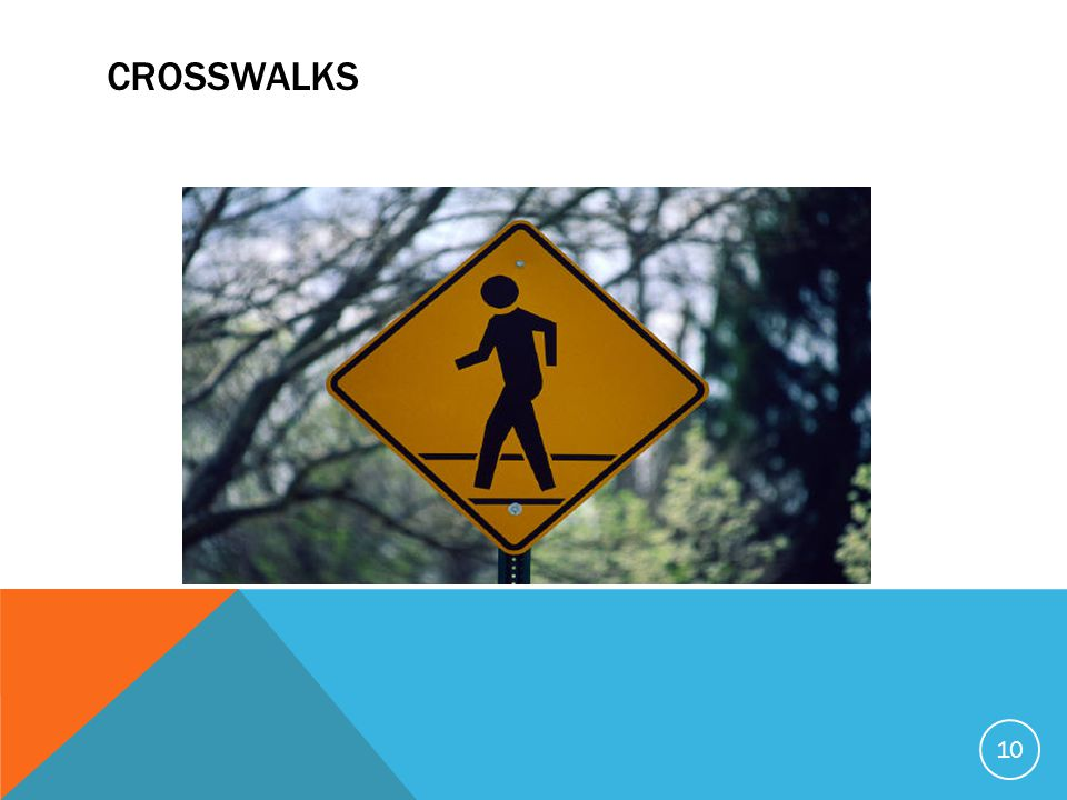 CROSSWALKS 10