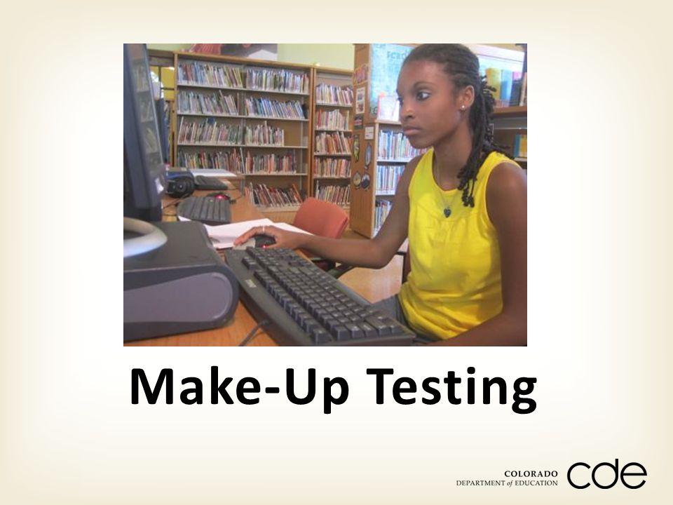 Make-Up Testing