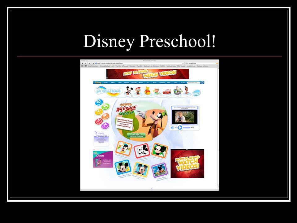 Disney Preschool!