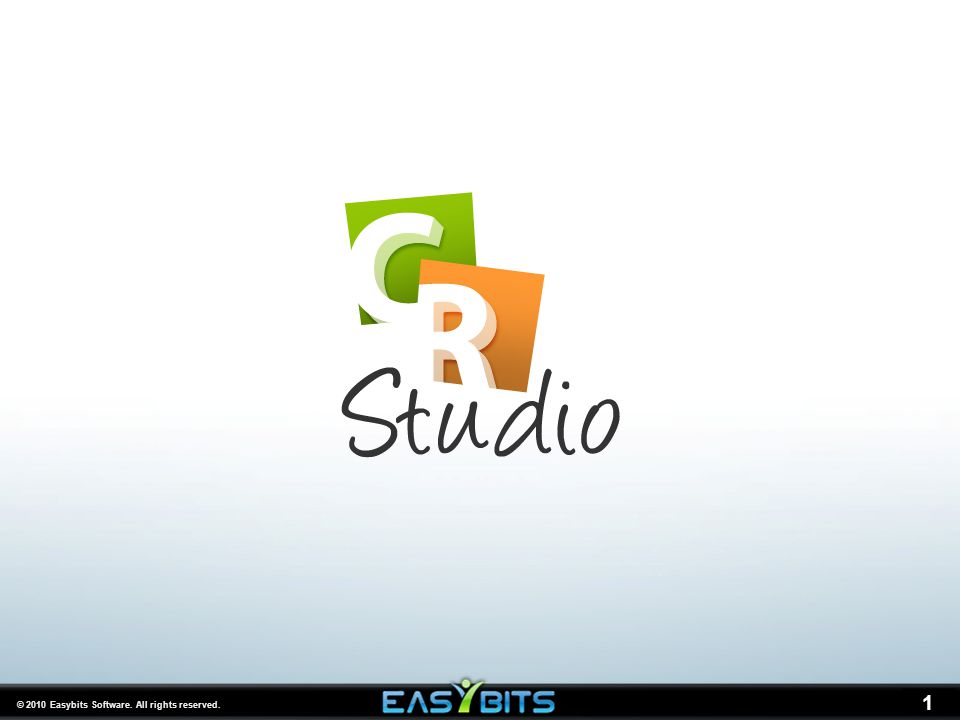 © 2010 Easybits Software. All rights reserved. 1