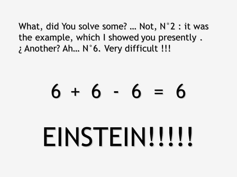 111 = 6 222 = 6 333 = 6 444 = 6 555 = 6 666 = 6 777 = 6 888 = 6 999 = 6