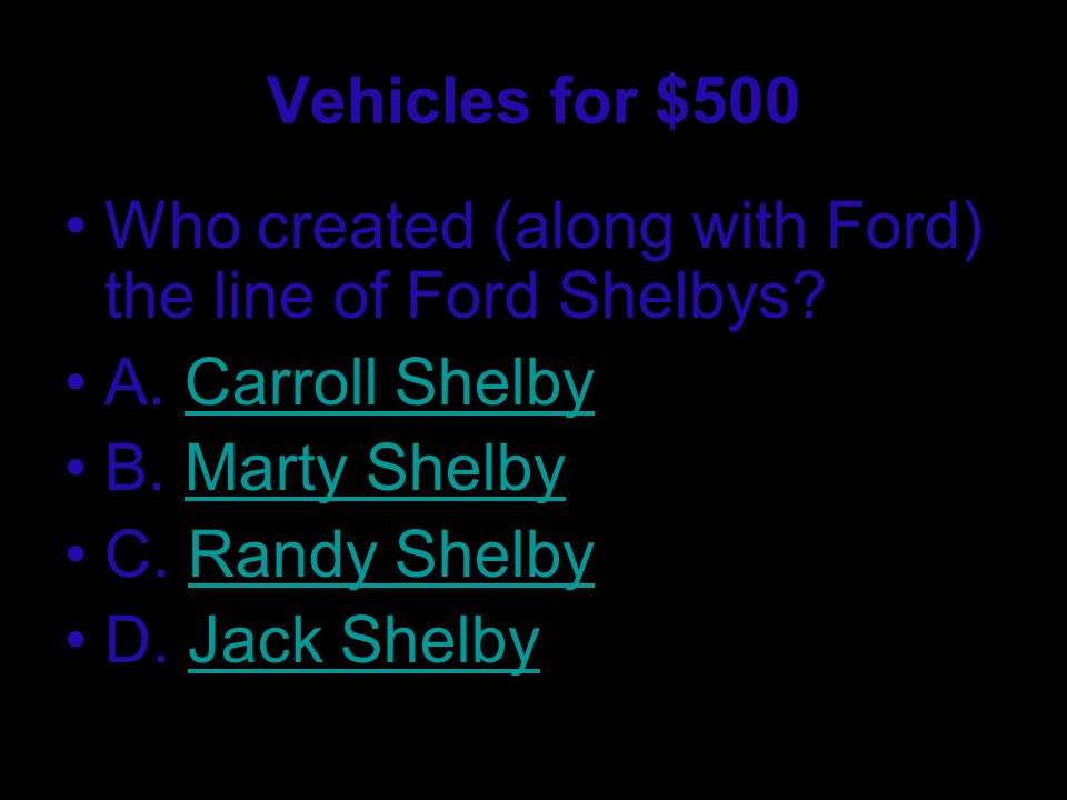 Vehicles for $400 What is the car company that owns 8 car companies.