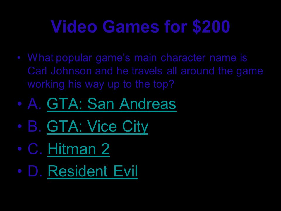 Video Games for $100 What popular video game has the player be a Cyborg (Spartan).