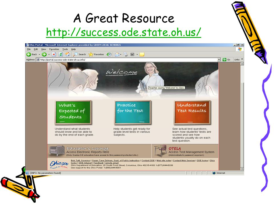 A Great Resource http://success.ode.state.oh.us/ http://success.ode.state.oh.us/