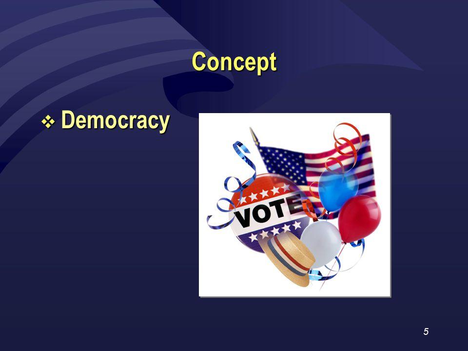 5 Concept  Democracy