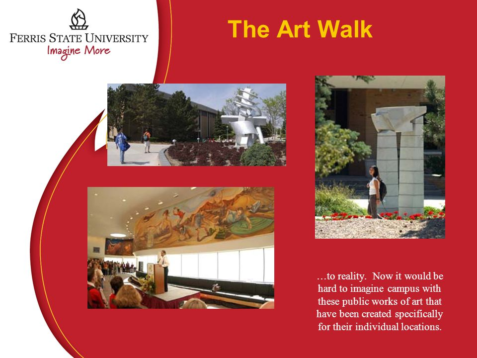 The Art Walk …to reality.