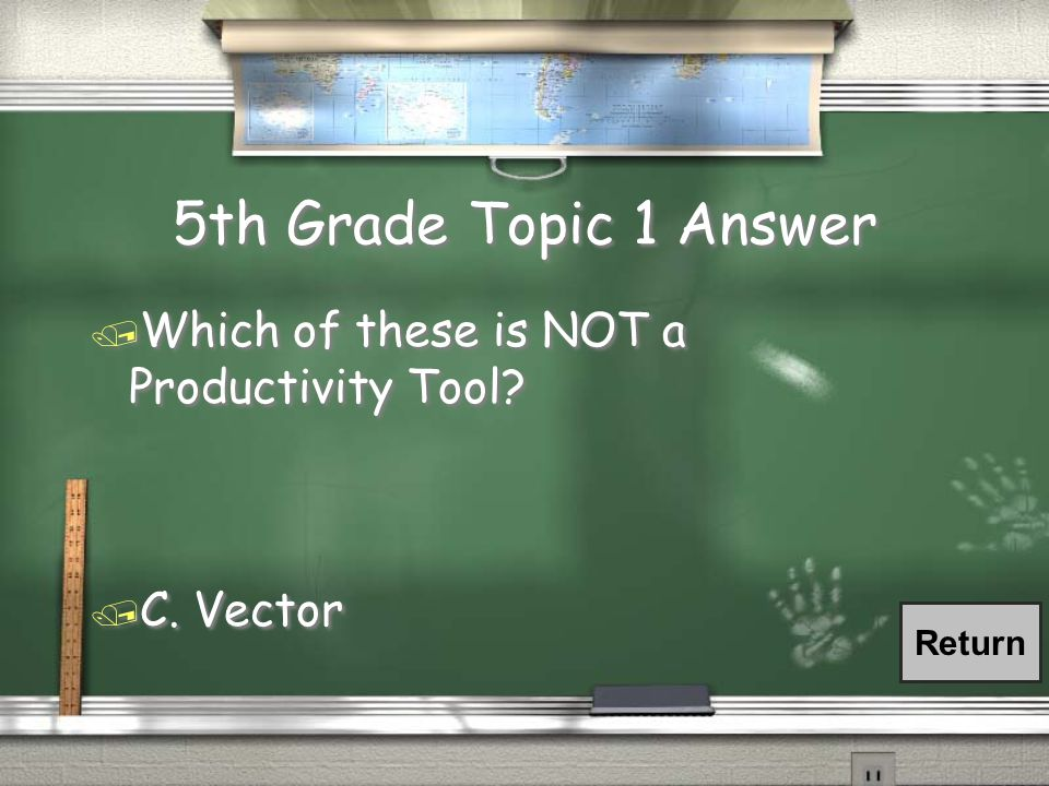 3rd Grade Topic 6 Answer / Which of the following means to gather, process and interact with information.