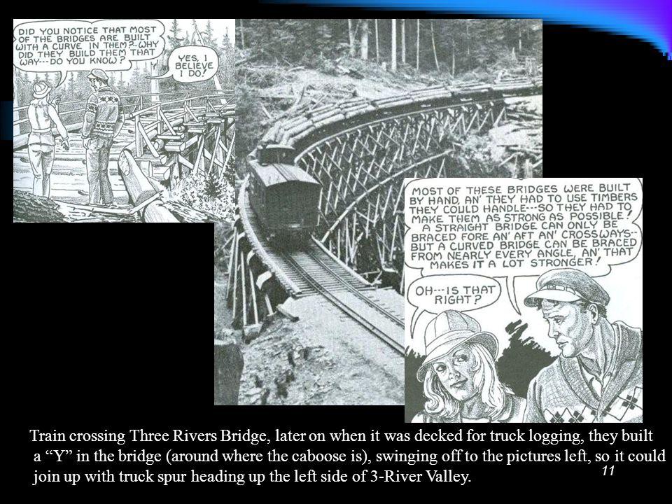 10 Building 3-Rivers bridge (built with a curve)