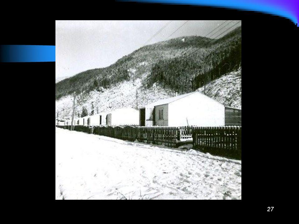 26 Main tracks through camp
