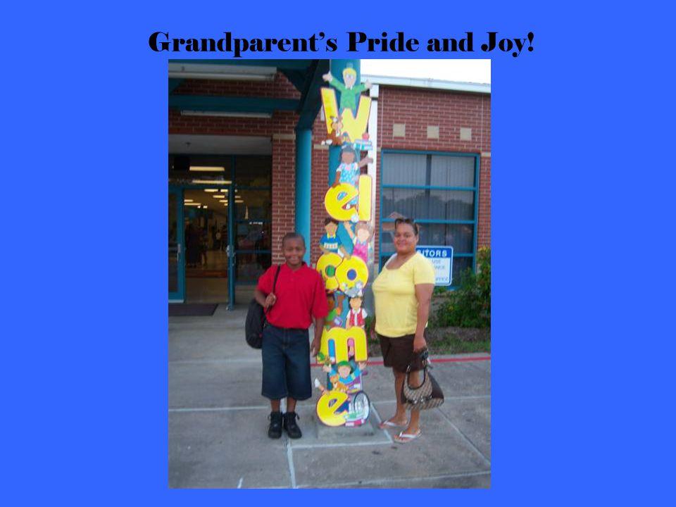 Grandparent's Pride and Joy!